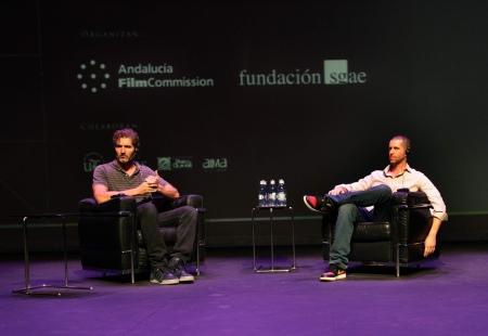 Encuentro con los guionistas de  Juego de Tronos en Sevilla. Fundación SGAE y Andalucía Film Commission. D. Benioff y D. Weiss