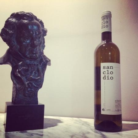 Naturaleza muerta de Goya y San Clodio.