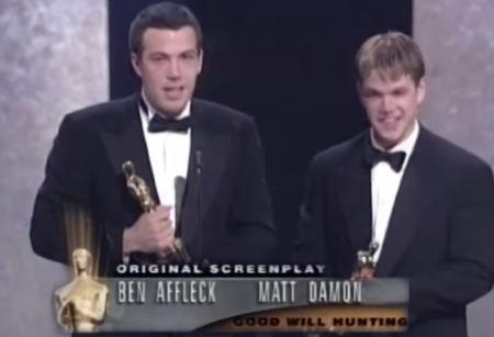 Affleck-Damon-Oscar
