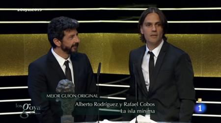 Mejor Guión Original - Goyas 2015