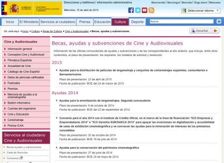 http://www.mecd.gob.es/cultura-mecd/areas-cultura/cine/sc/becas-ayudas-y-subvenciones.html