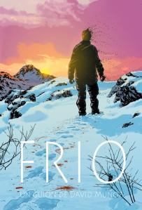 """Ilustración de Kano para la portada del guión de """"Frío""""."""