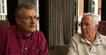 Carlos López y Manuel Ángel Egea.